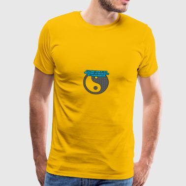 karma - Miesten premium t-paita