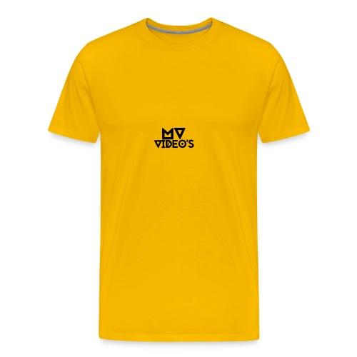 mw video's t-shirt - Mannen Premium T-shirt