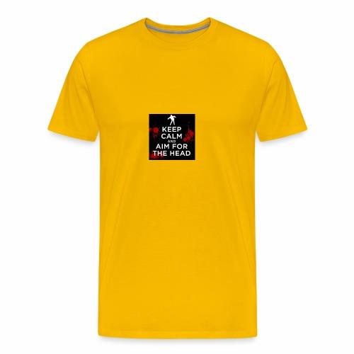KEEPCALM ZOMBIE - Männer Premium T-Shirt