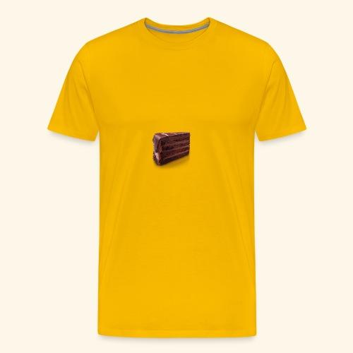 chocolate cake - Men's Premium T-Shirt