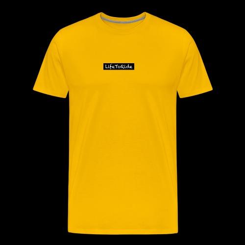 Life to Ride - Männer Premium T-Shirt