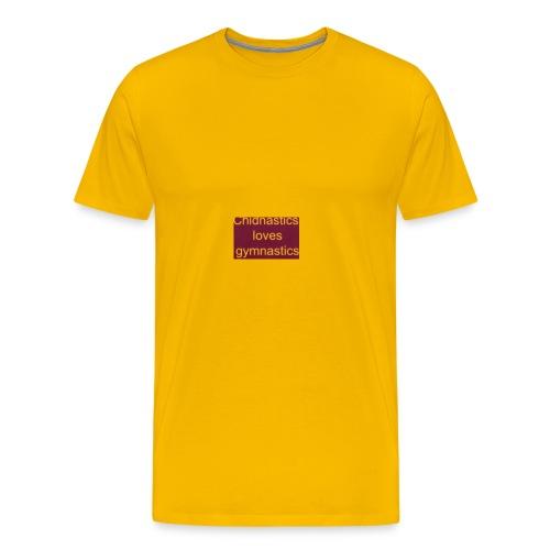chidnastics loves gymnastics😊😊😊😊😊😊😊😊😊😊😊 - Men's Premium T-Shirt