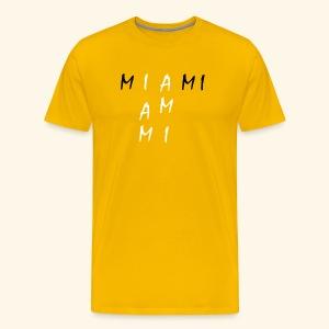 Miami Collection - Premium T-skjorte for menn
