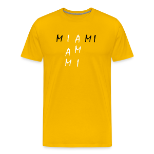 Miami Collection - Premium T-skjorte for menn