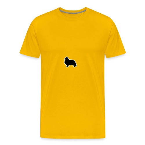 silouhette shetland - T-shirt Premium Homme