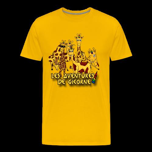 Les aventures de Gicorne - T-shirt Premium Homme