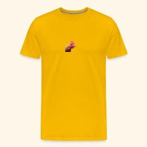 chicken - Miesten premium t-paita