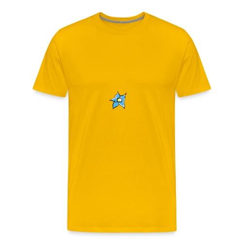 DONNA FIORE FRONTE - Maglietta Premium da uomo