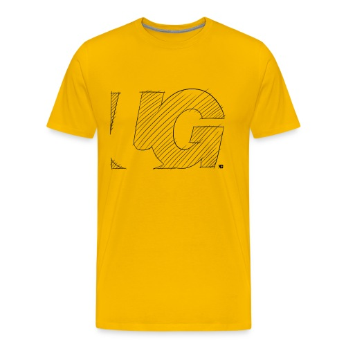 UG Logo sketch - Men's Premium T-Shirt