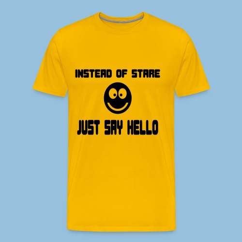 stare2 - Mannen Premium T-shirt