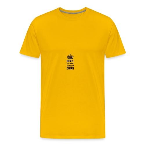 Honeyyy - Männer Premium T-Shirt