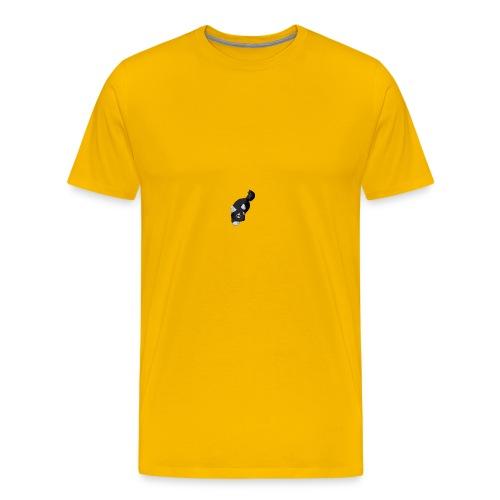 renard noir - T-shirt Premium Homme
