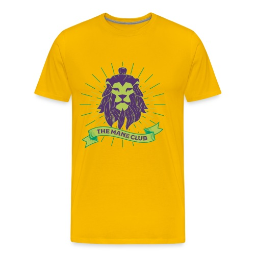 Man / Mane Club - Mann / Mähne Club Green Purple - Männer Premium T-Shirt