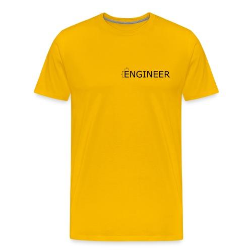 Engineer Ingenieur Konstrukteur Maschinenbau - Männer Premium T-Shirt