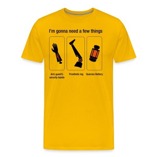 Rocket citation Few things gardiens - T-shirt Premium Homme