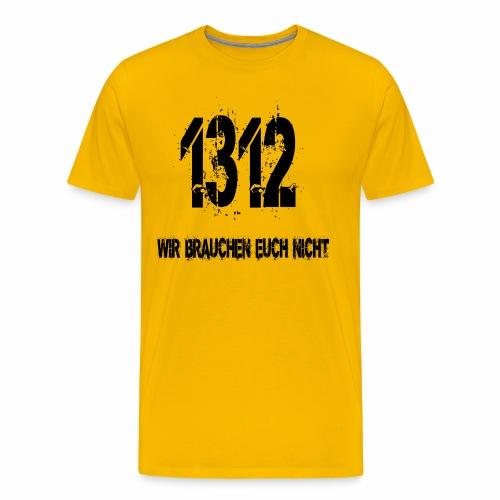 1312 BOSS - Männer Premium T-Shirt