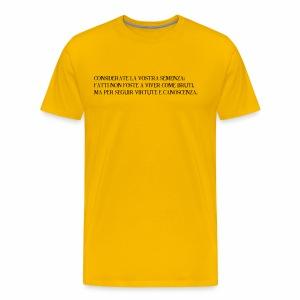 Dante - Maglietta Premium da uomo
