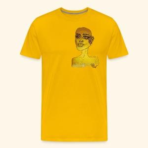 Special design YellowPDw - Mannen Premium T-shirt