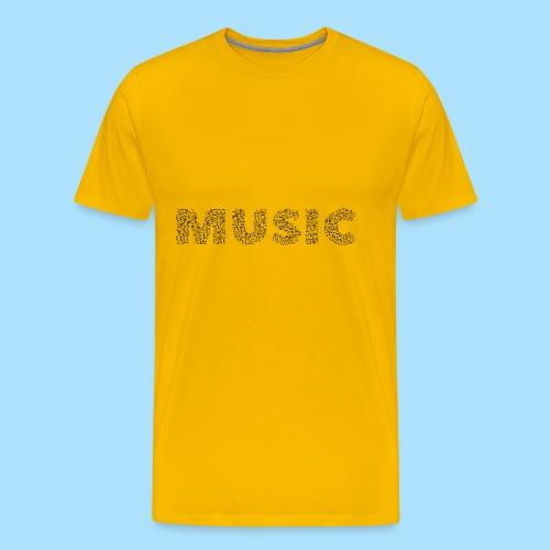 Music - Mannen Premium T-shirt