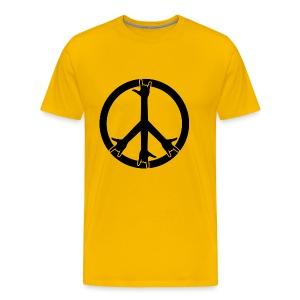 Pace e Rock! - Maglietta Premium da uomo