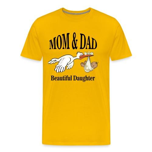 Beautiful Daughter - Mannen Premium T-shirt