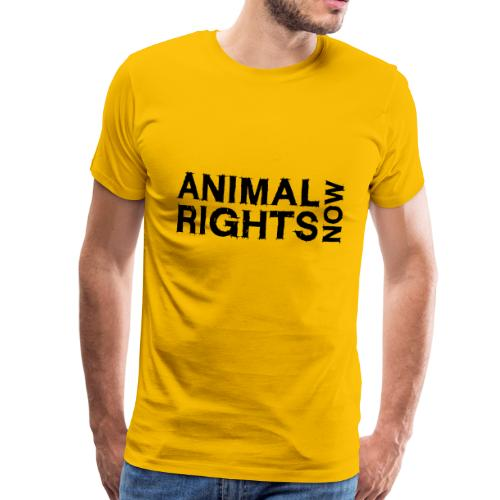 ANIMAL RIGHTS NOW_02 - Männer Premium T-Shirt