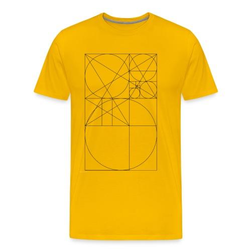 Złoty Podział - Koszulka męska Premium