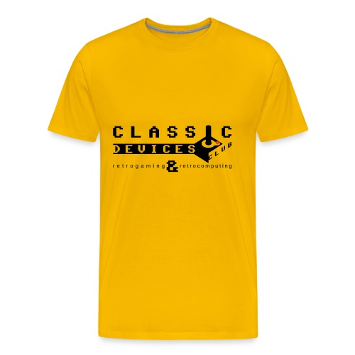 Classic Devices Club - Maglietta Premium da uomo