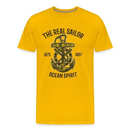 Ocean Seemann - Männer Premium T-Shirt