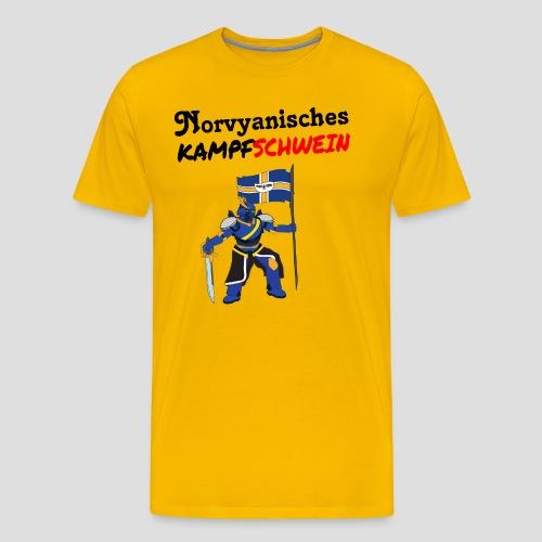 Kampfschwein - Männer Premium T-Shirt