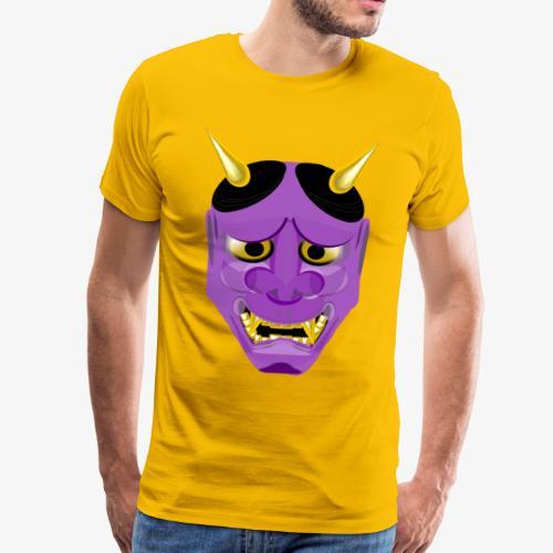 Demon Mask Purple - Men's Premium T-Shirt