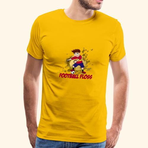 SpainFootballFloss - Men's Premium T-Shirt