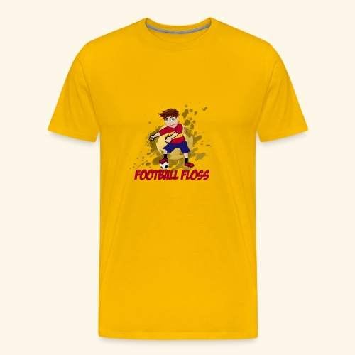 SpainFootballFloss - Men's Premium T-Shirt