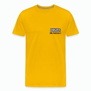 no life logo - T-shirt Premium Homme