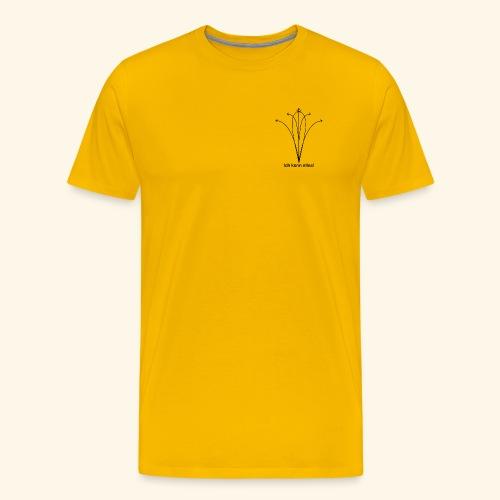 Ich kann alle Golf Flugkurven spielen. - Männer Premium T-Shirt
