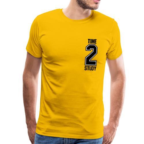 TIME 2 STUDY   College Universität - Männer Premium T-Shirt