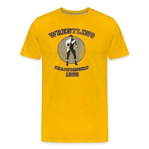 Wrestling 1965 - Men's Premium T-Shirt
