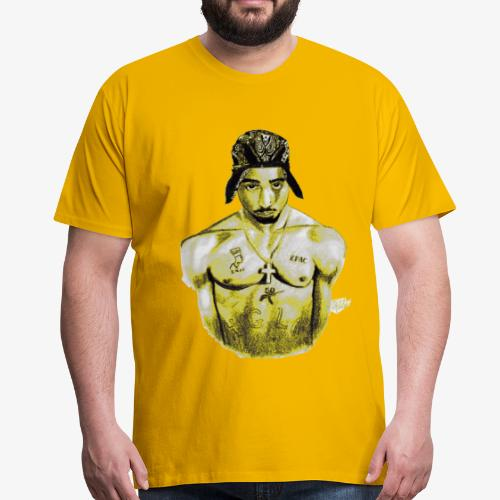 gangsta yellow - T-shirt Premium Homme