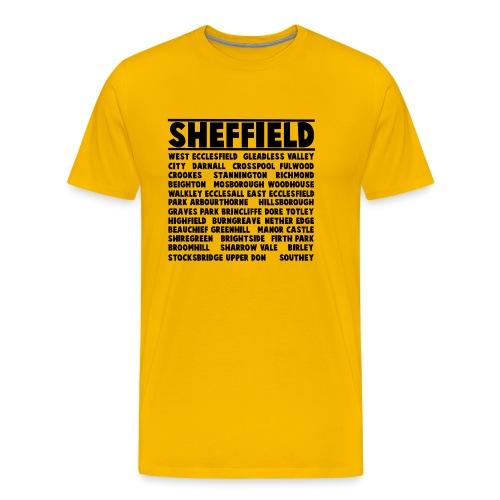 Sheffield City - Men's Premium T-Shirt