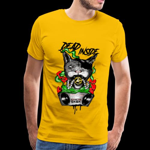 catblaster colore - Maglietta Premium da uomo