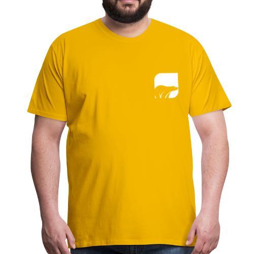 WHITEMACI - Camiseta premium hombre