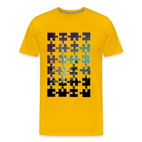 Puzzle - Männer Premium T-Shirt