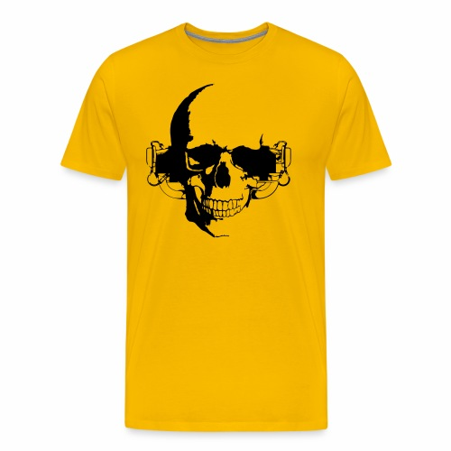 O 360 Skull - Männer Premium T-Shirt