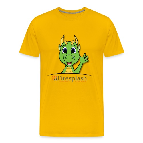 Kurisou mit Logo - Männer Premium T-Shirt