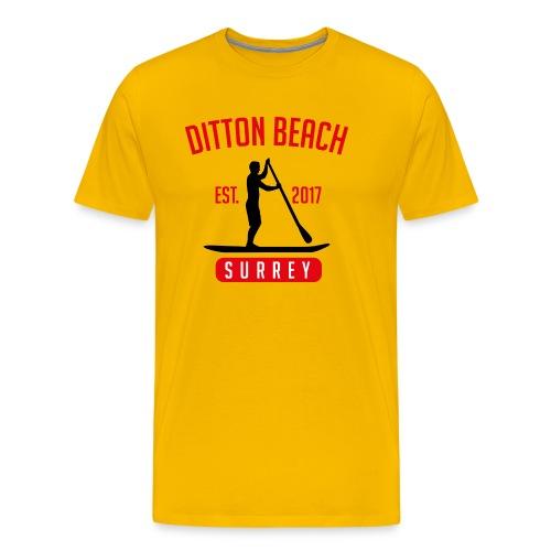 Ditton Beach Logo Final - Men's Premium T-Shirt