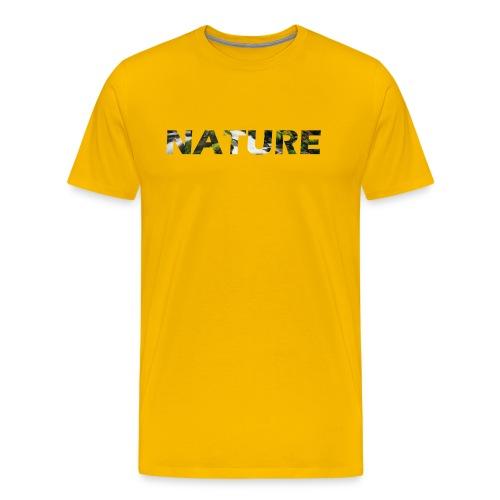 Nature - Mannen Premium T-shirt