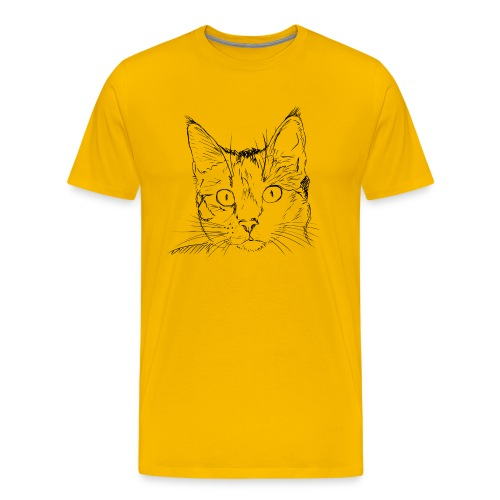 Katze / Kätzchen 0006 - Männer Premium T-Shirt