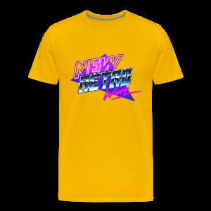 New Retro Wave - Mannen Premium T-shirt