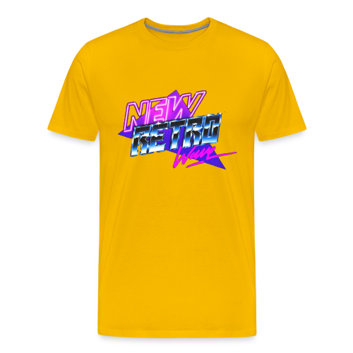 New Retro Wave - Mannen Premium T-shirt