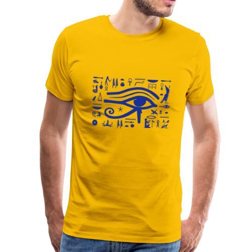 HORUS Hieroglyphen - Männer Premium T-Shirt